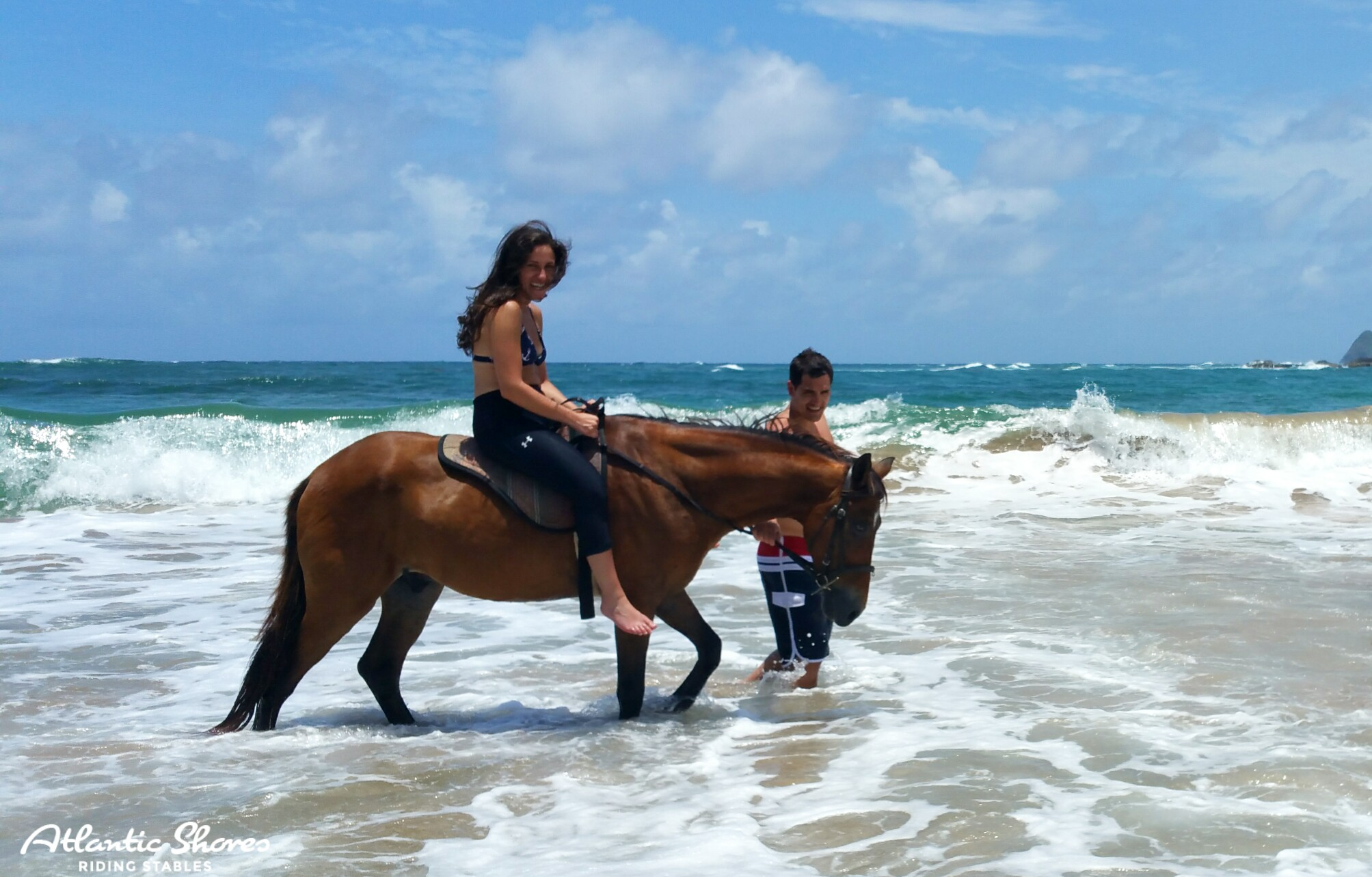 Romantic Horseback Ride In St. Lucia