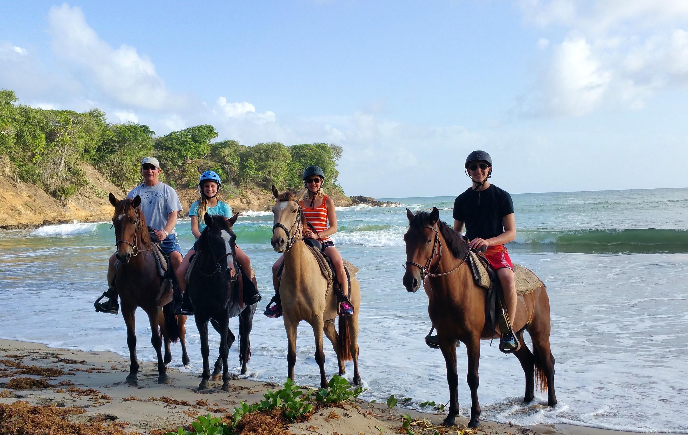 Family Horse Ride