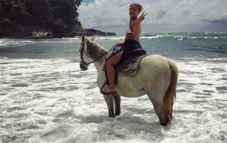 Horse riding in St. Lucia