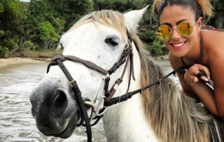 Fun Horse Ride In St. Lucia
