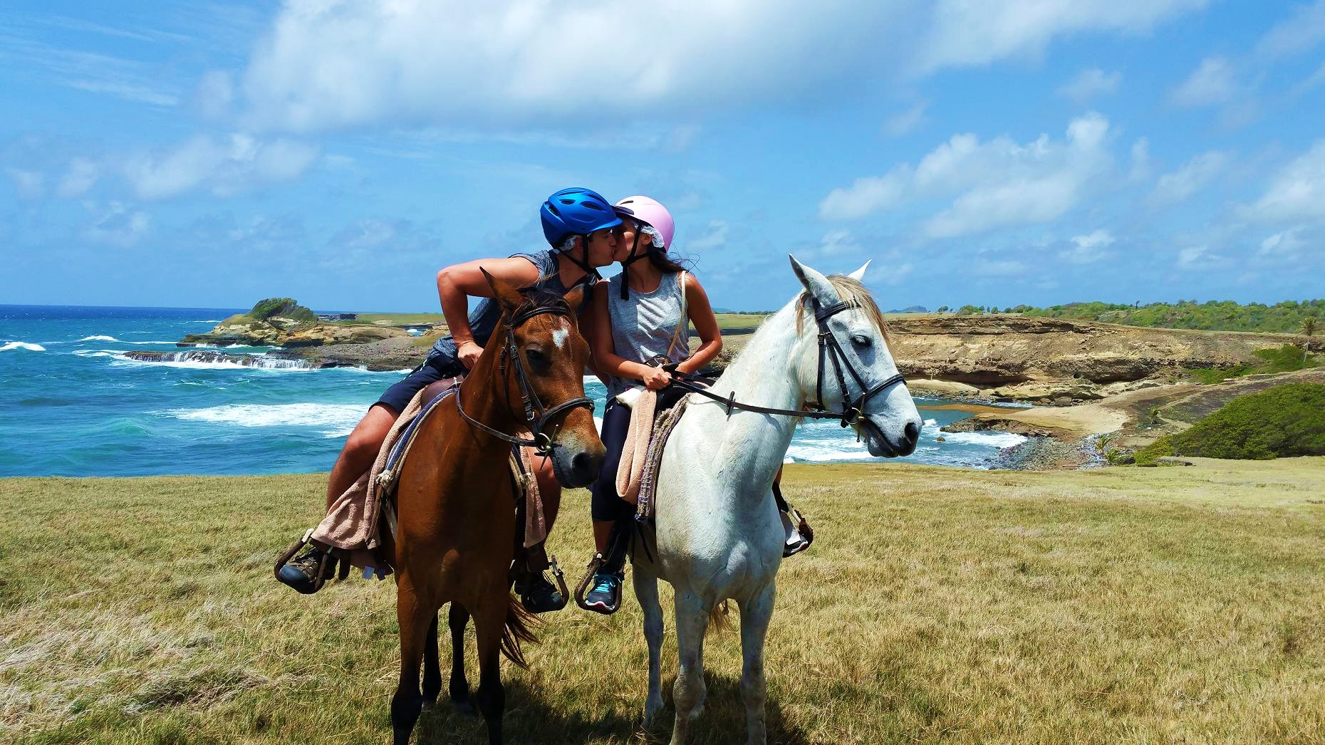 Many have dreamed of riding a horse on the beach or in the ...