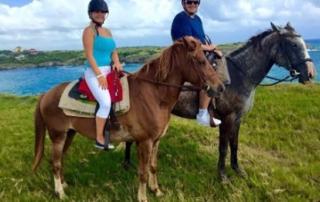 Riding On Beach St. Lucia